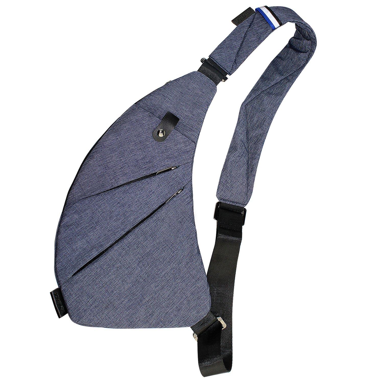 TOPNICE Sling Backpack Bag Ultralight Small Crossbody Bags for Women Travel Gym Hiking Mini Shoulder Back Pack Bag Daypacks (Dark Blue)