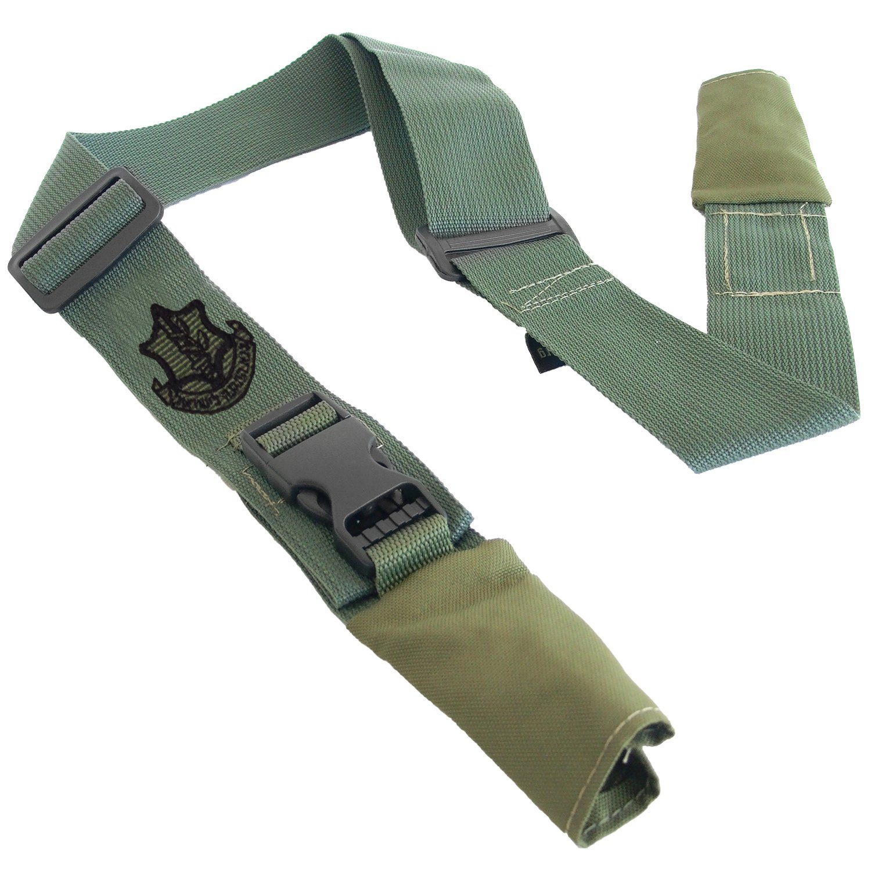 Ultimate Arms Gear Two-Point Sling, IDF Israeli Defense Forces Sayeret Official Emblem OD Green Beretta CX4 12/20 Ga. Shotgun/Rifle/Gun