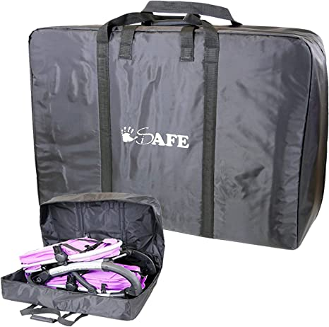 TwinInlineDouble Travel Bag Luggage Heavy Duty Design for Inline Tandem Travel Tote