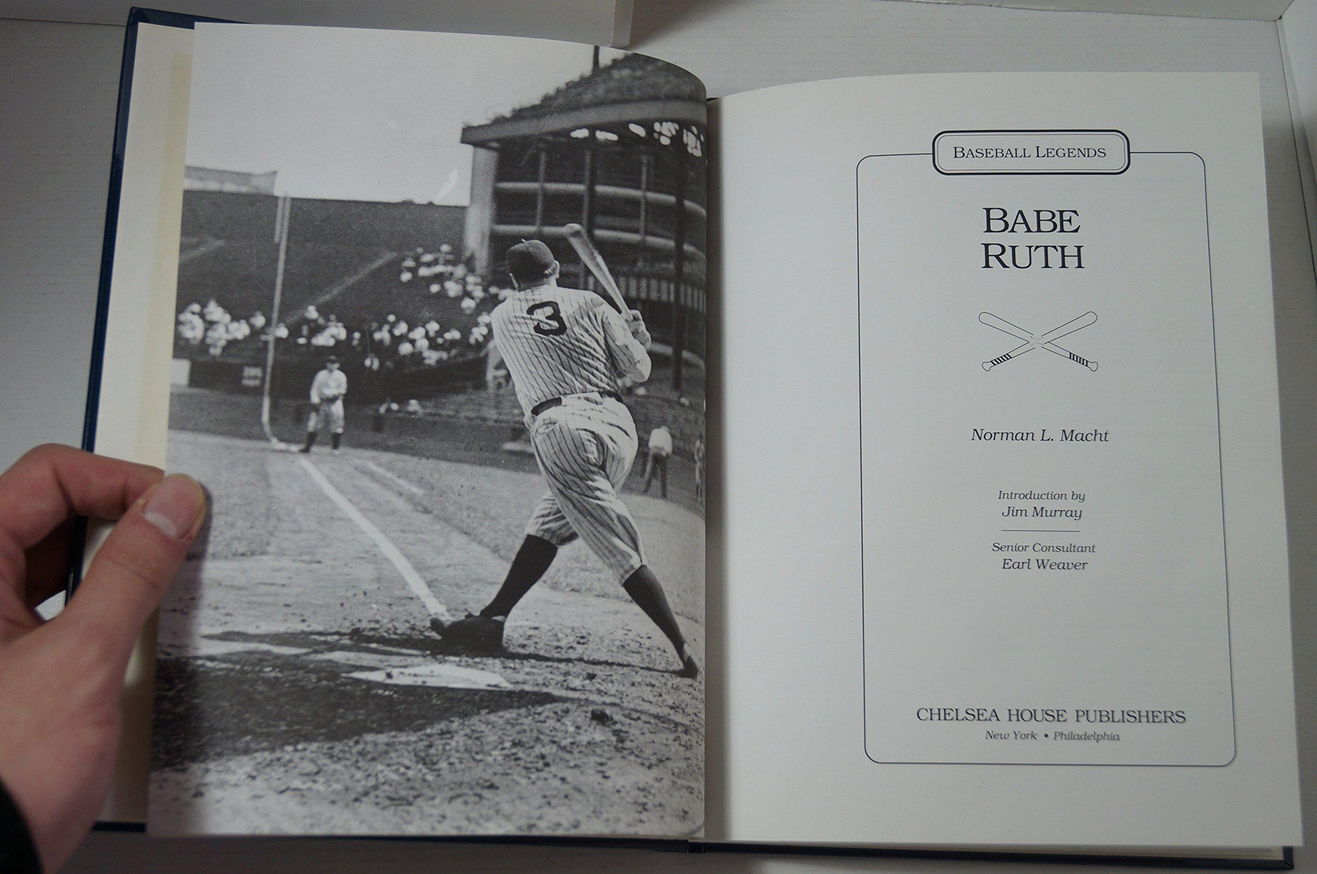 Babe Ruth (baseball Legends): Norman L Macht, Jan Murray: 9780791011898:  Amazon: Books
