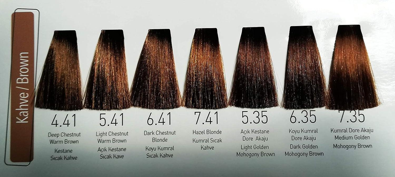 Wox Hair Color Cream 7,41 - Tinte para el pelo, rubio medio ...