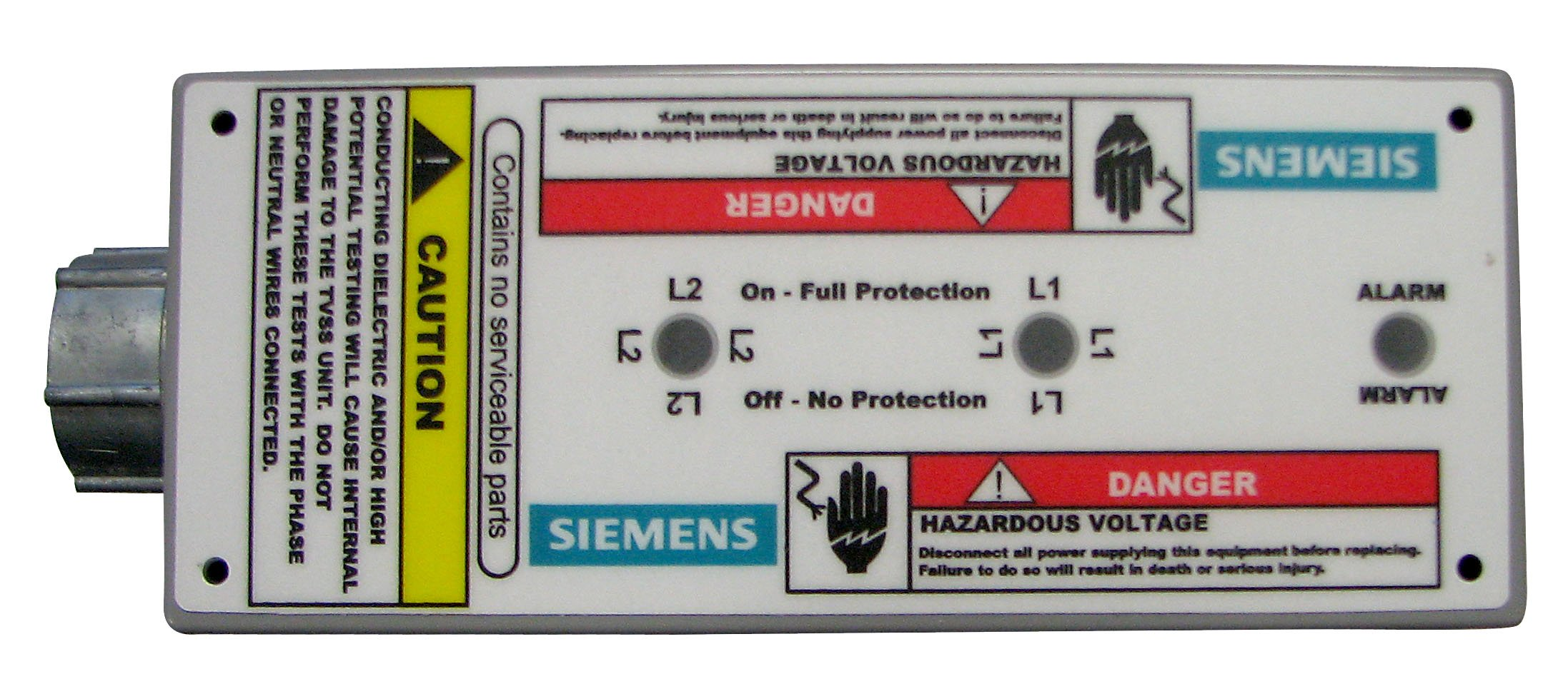 Siemens SPD4home 120/240-Volt 40kA Per Phase Whole House Surge Protective Device by Siemens