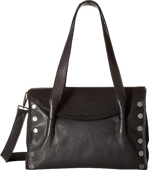 Hammitt Women s Shawn Medium Black Gunmetal One Size  Handbags  Amazon.com ba9fd1c496429