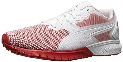 PUMA Men s Ignite Dual Breathe Cross-Trainer Shoe White-High Risk ab7c07015a17