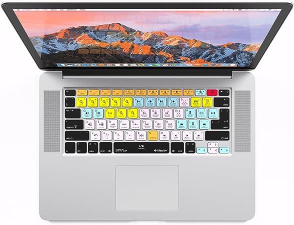 Avid Pro Tools - Funda para teclado para MacBook Pro Retina de 13