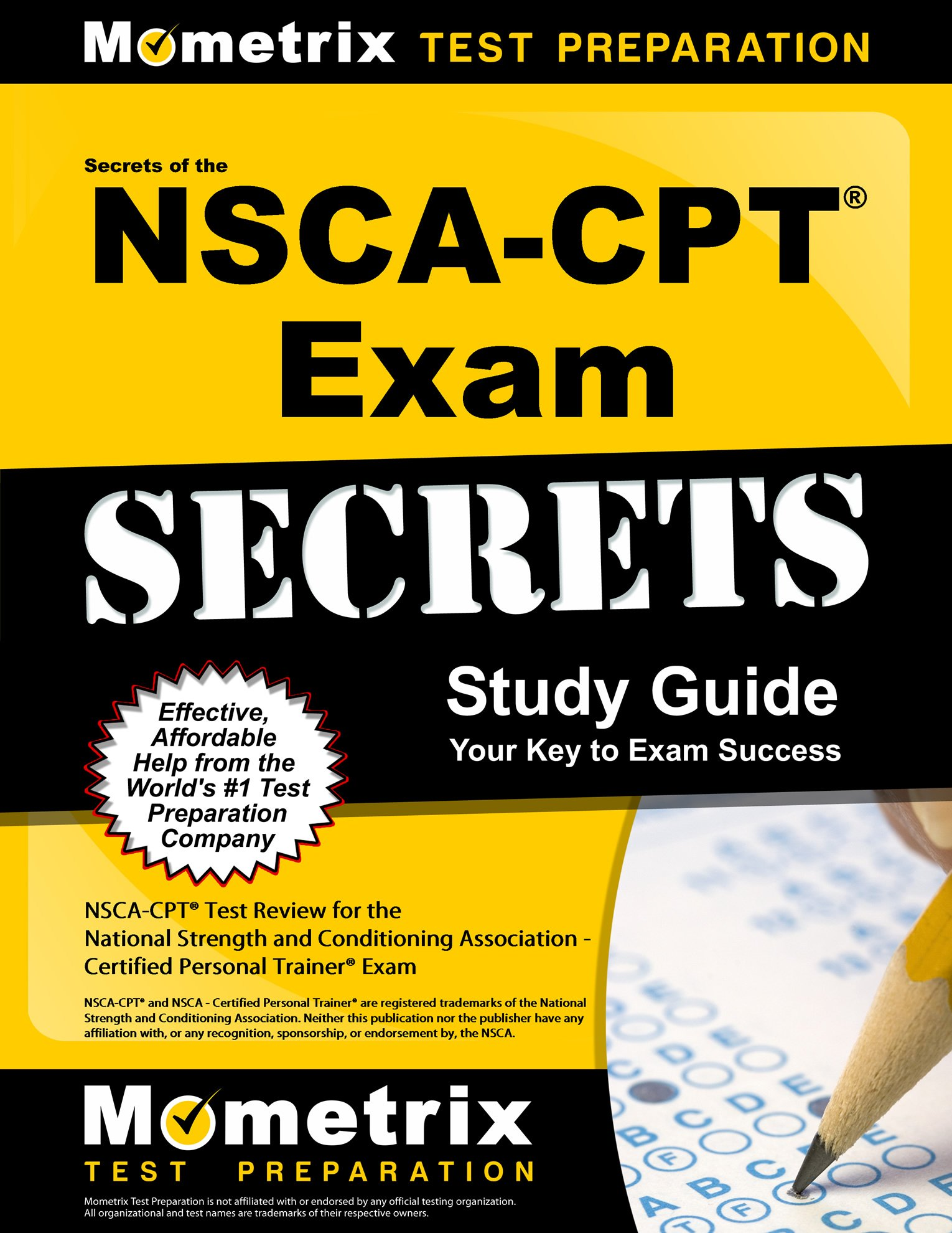 Buy Secrets Of The Nsca Cpt Exam Nsca Cpt Test Review For The