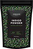 Cenizas Indigo Powder For Hair & Beard Dye - (250 Grams)
