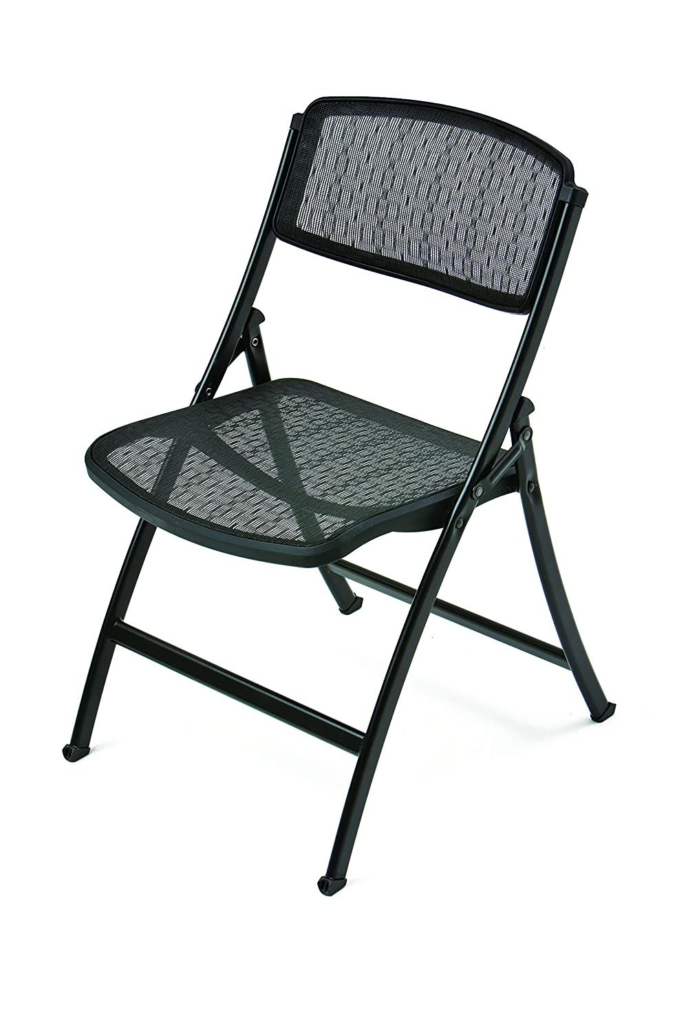 Amazon.com: Mity Lite MESH ONE Folding Guest Chair, Black, 4 Pack: Home U0026  Kitchen