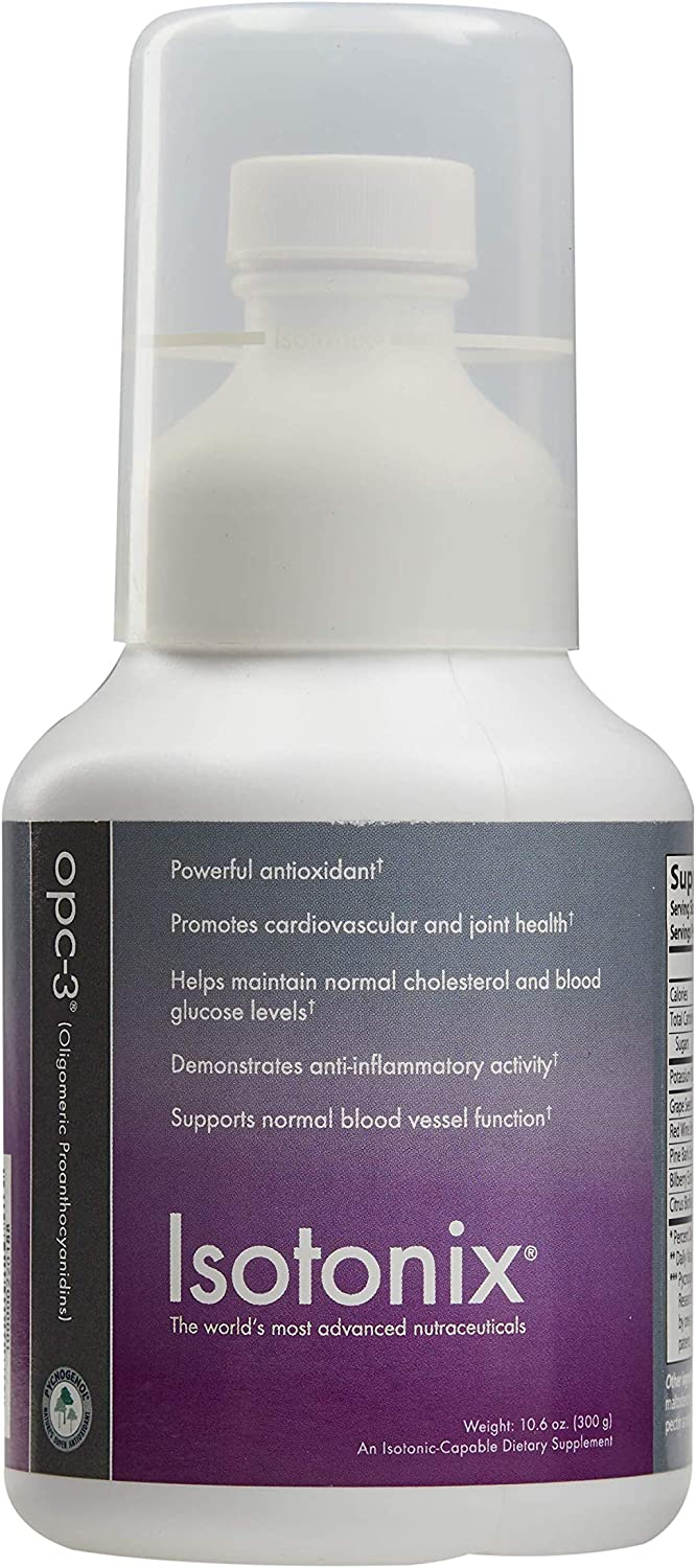 Isotonix OPC-3, Promotes Cardiovascular Health, Joint Health, Helps Maintain Healthy Cholesterol, Promotes Healthy Blood Vessel Dilation, Market America (90 servings)