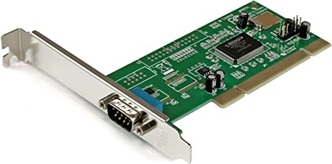 StarTech.com 1 Port PCI RS232 Serial Adapter Card with 16550 UART - PCI Serial Adapter - PCI rs232 - PCI Serial Card (PCI1S550)