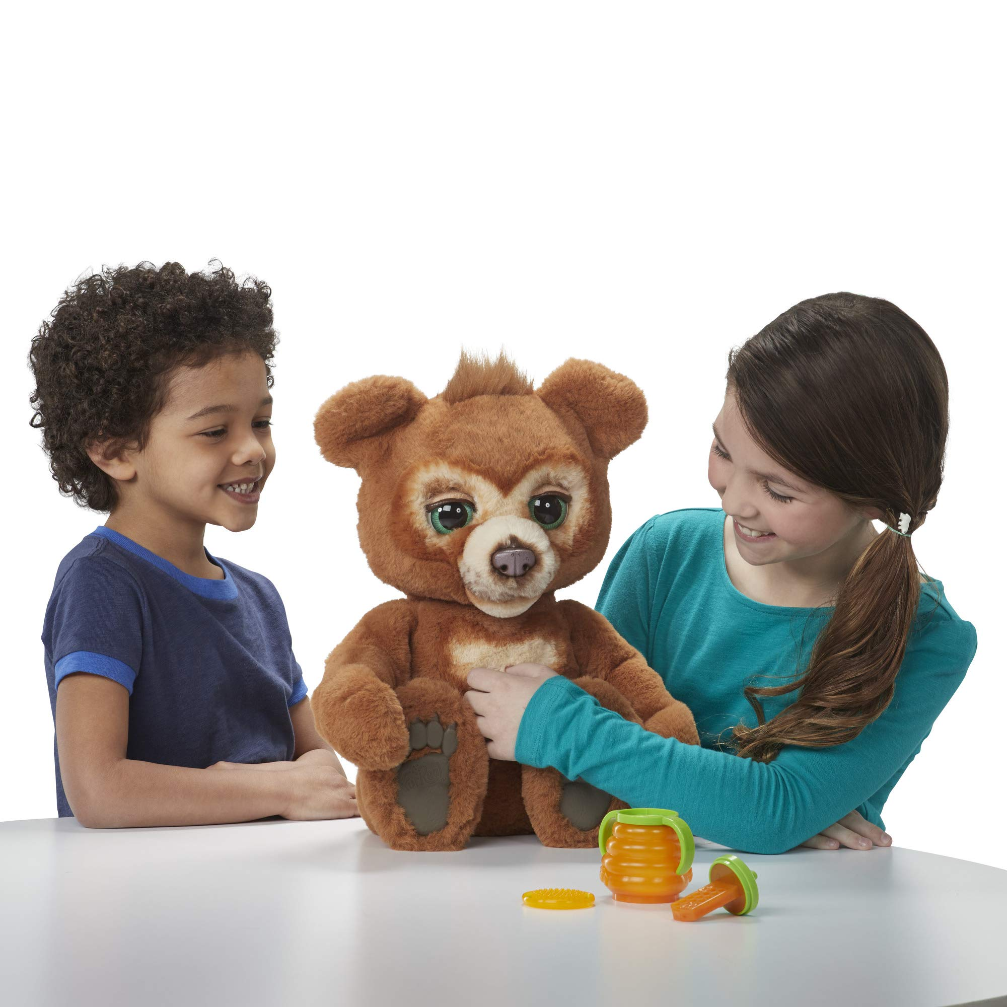 FurReal Cubby, The Curious Bear Interactive Plush Toy, Ages 4 and Up by FurReal (Image #10)