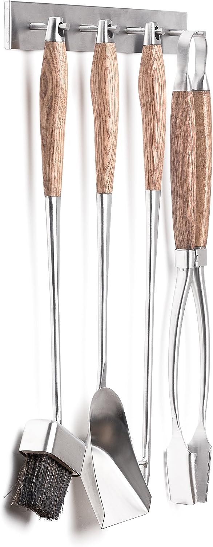 Hansa Juego de herramientas para chimenea de alta calidad 4 piezas