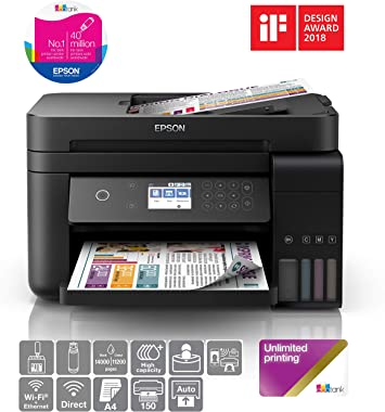 Epson EcoTank ET-3750B Printer