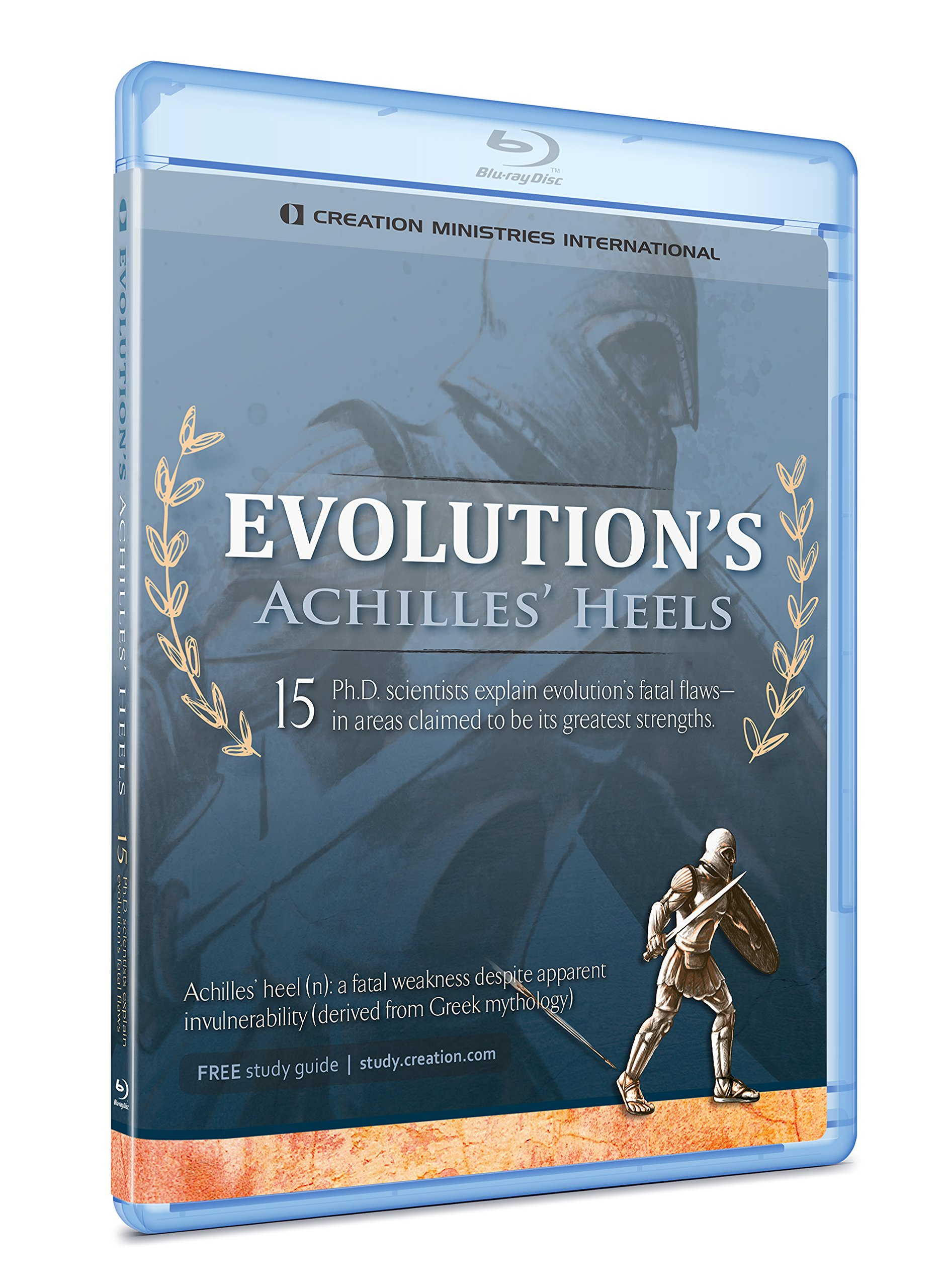 Blu-ray : Evolution's Achilles Heel (Blu-ray)
