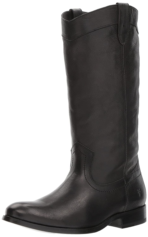 FRYE Women's Melissa Pull on Fashion Boot B06W51M399 7.5 B(M) US|Black