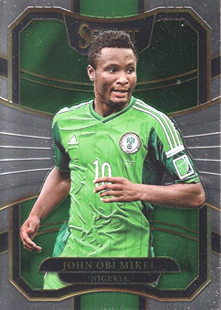 18992f3429318 2017-18 Select Soccer  94 John Obi Mikel Nigeria at Amazon s Sports  Collectibles Store