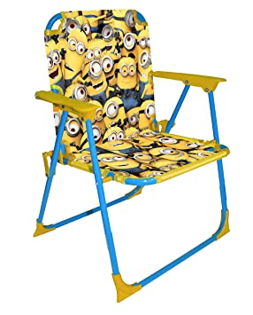 Despicable Me Minion Made Folding Chair  sc 1 st  Amazon UK & Despicable Me Minion Made Folding Chair: Amazon.co.uk: Toys u0026 Games