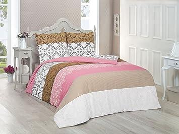 Bettwasche 200x200 Baumwolle Bettgarnitur Mit Reissverschluss 3