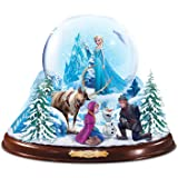 Disney FROZEN Musical Snowglobe with Lights And Swirling Snow by The Bradford Exchange
