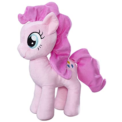 3e7bf78d337 Amazon.com  My Little Pony Friendship is Magic Pinkie Pie Cuddly Plush  Toys    Games