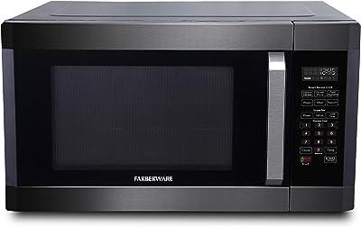 Farberware Black FMO16AHTBSA 1.6 Cubic Foot 1300-Watt Microwave Oven
