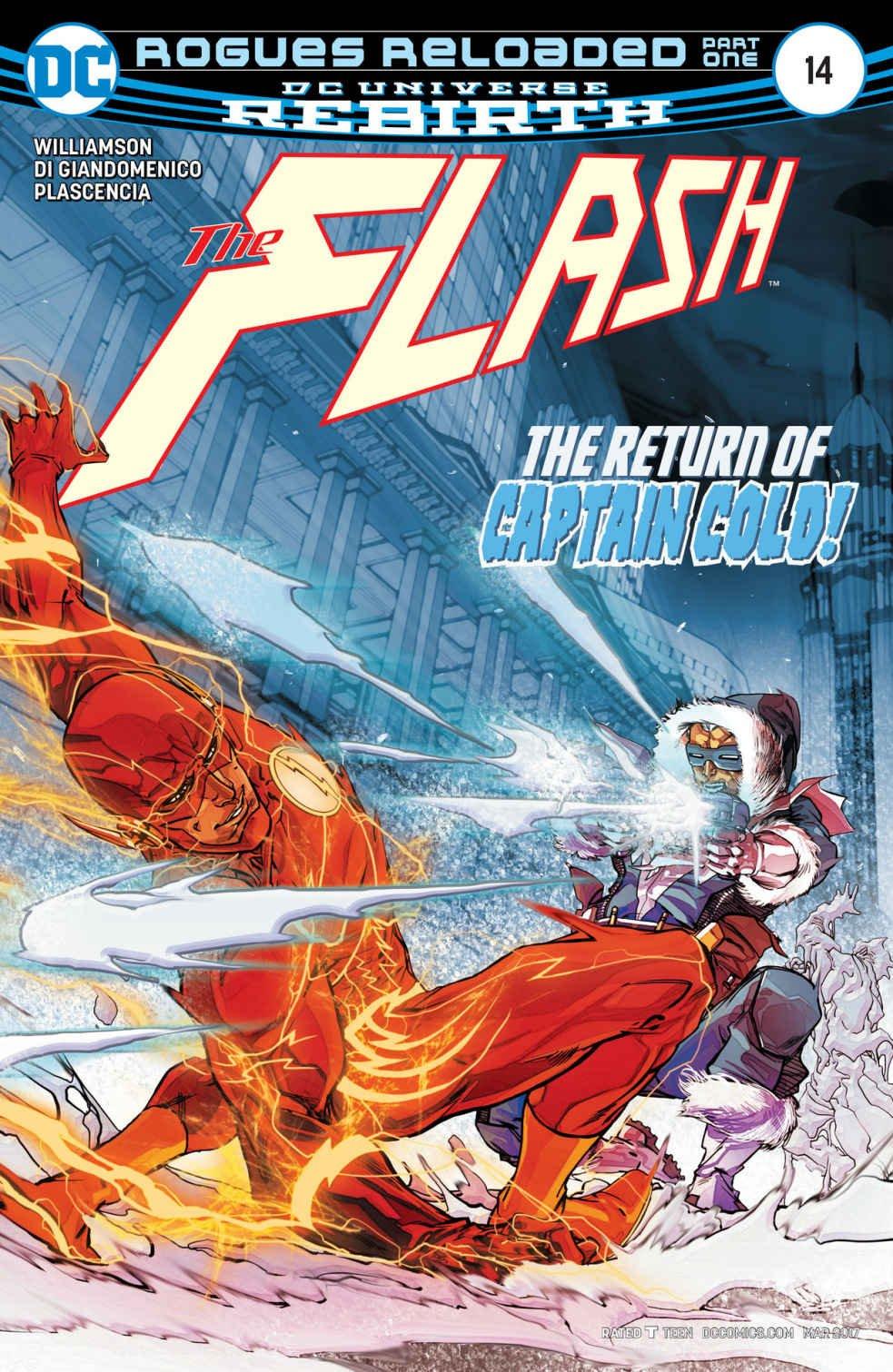Download DC Universe Rebirth The Flash #14 (2017) 1st Printing ebook