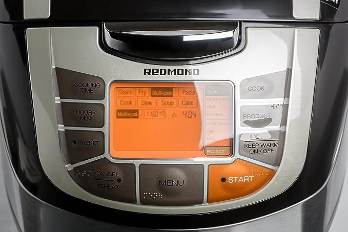 Redmond RMC-M4502EB - Robot De Cocina Multicooker M4502E Con 34 ...