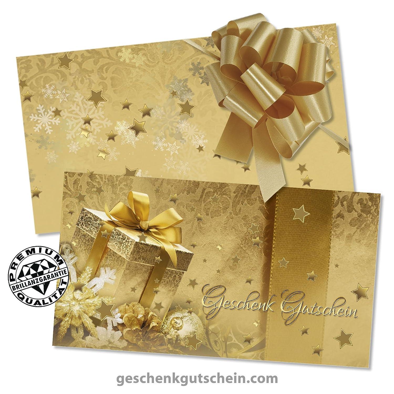 Weihnachts-Geschenkgutscheine mit Kuverts für alle Branchen X1297