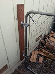 Chain Link Fence Walk Through Gate Kit Adjust A Gate