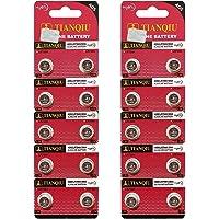 AG5 393A LR754 SR48 Button Cell Batteries [20-Pack]