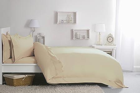Belledorm 400 Thread Count 100/% Egyptian Cotton Flat Sheet Double Cream