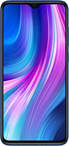 "Xiaomi Redmi Note 8 Pro (64GB, 6GB) 6.53"", 64MP Quad Camera, Helio G90T Gaming Processor, Dual SIM GSM Unlocked - US & Global 4G LTE International Version (Ocean Blue, 64 GB)"