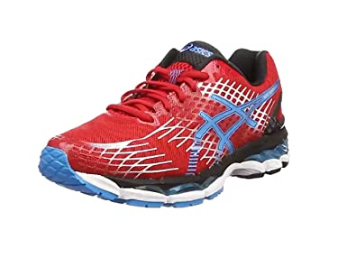 Asics Gel-Nimbus 17, Herren Laufschuhe, Blau (Electric Blau/Flash Gelb