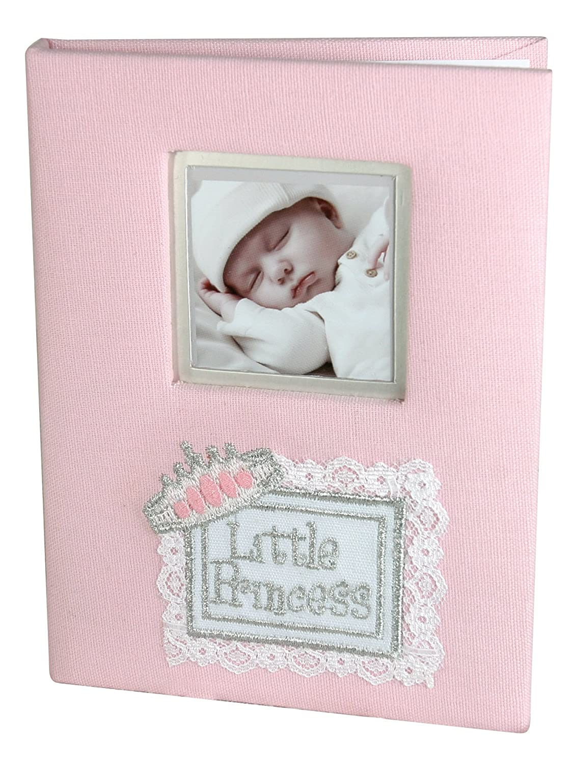 Stephan Baby Little Princess Keepsake Mini Photo Album Brag Book, Pink 342013