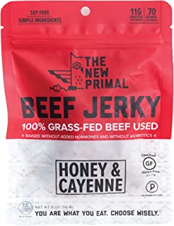 product image for The New Primal Spicy Beef Jerky, 2 Ounce