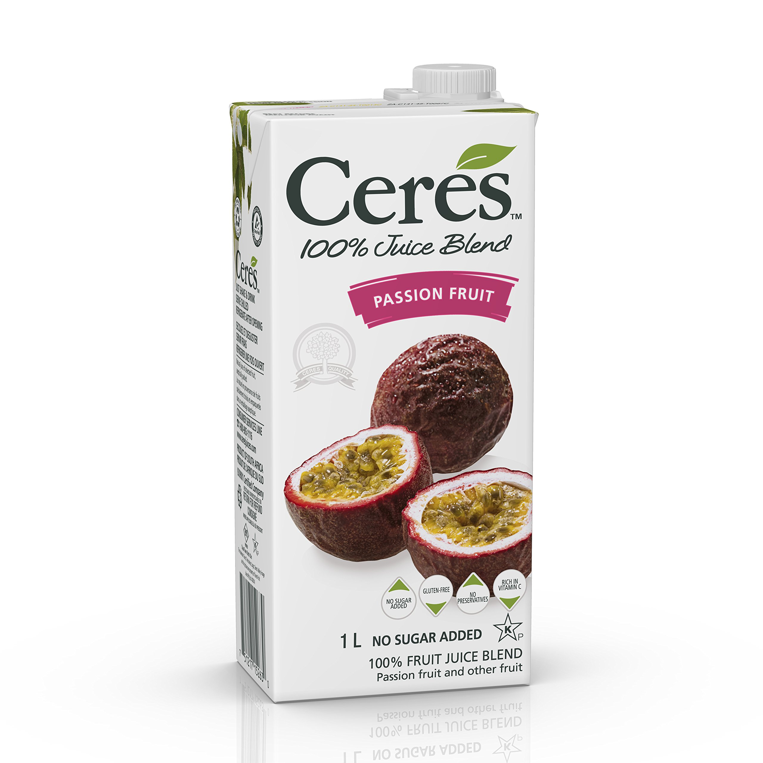 Ceres Juices Passion Fruit Juice, 33.8 oz