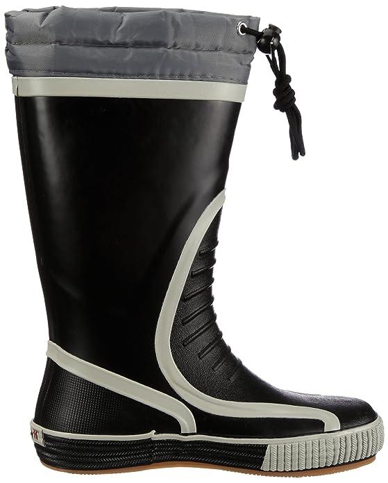 Romika Jeanie-Boot N 102 schwarz-grau - Damen Regenstiefel ScQrUqR