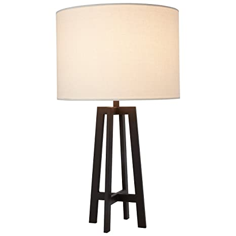 Stone Beam Deco Black Metal Table Lamp 20 75 H With Bulb White