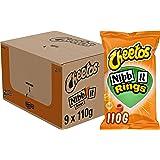 Cheetos Nibb-it Rings Chips, Doos 9 stuks x 110 g