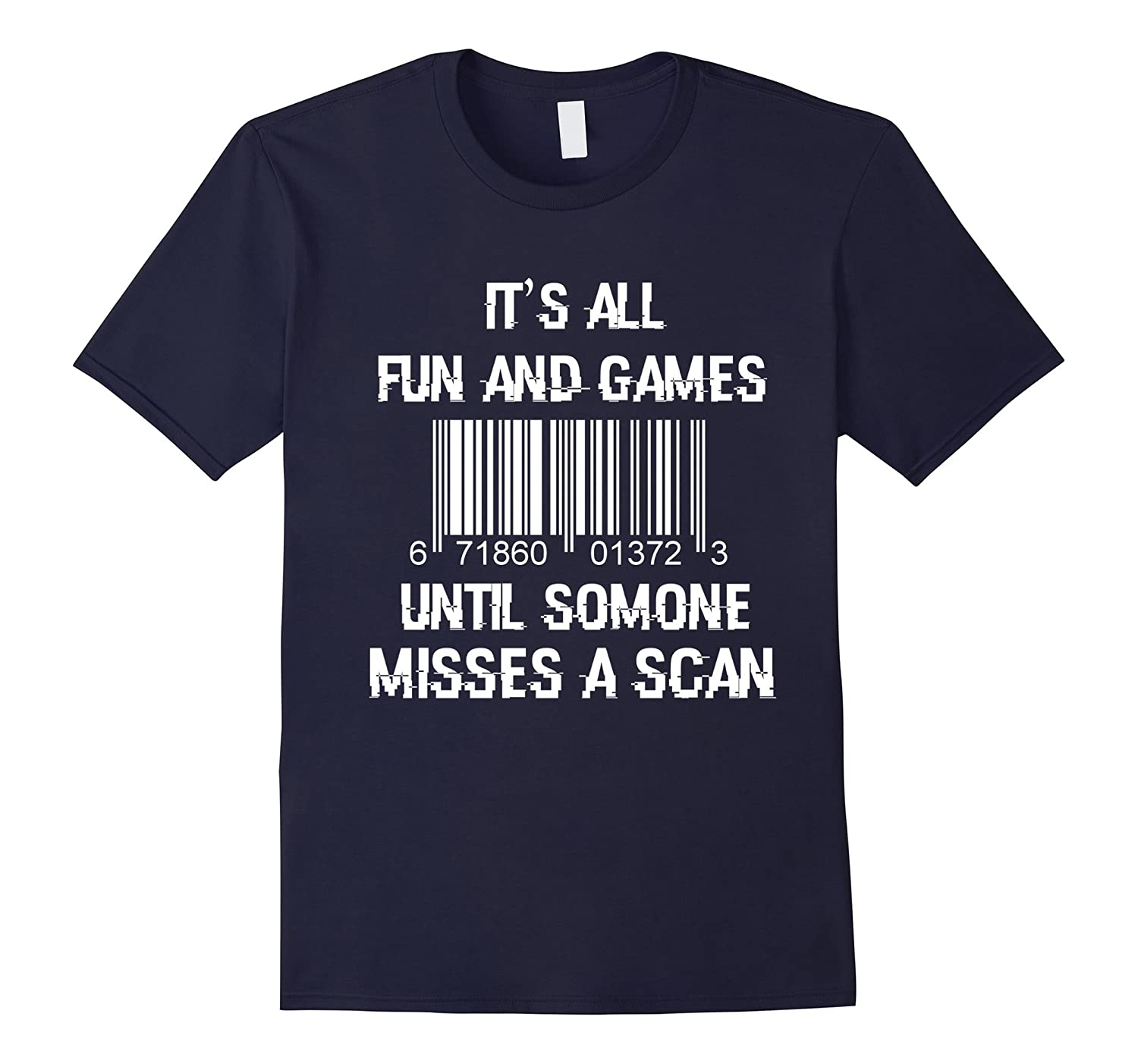 Funny Postal Worker T-Shirt for Postman-TJ
