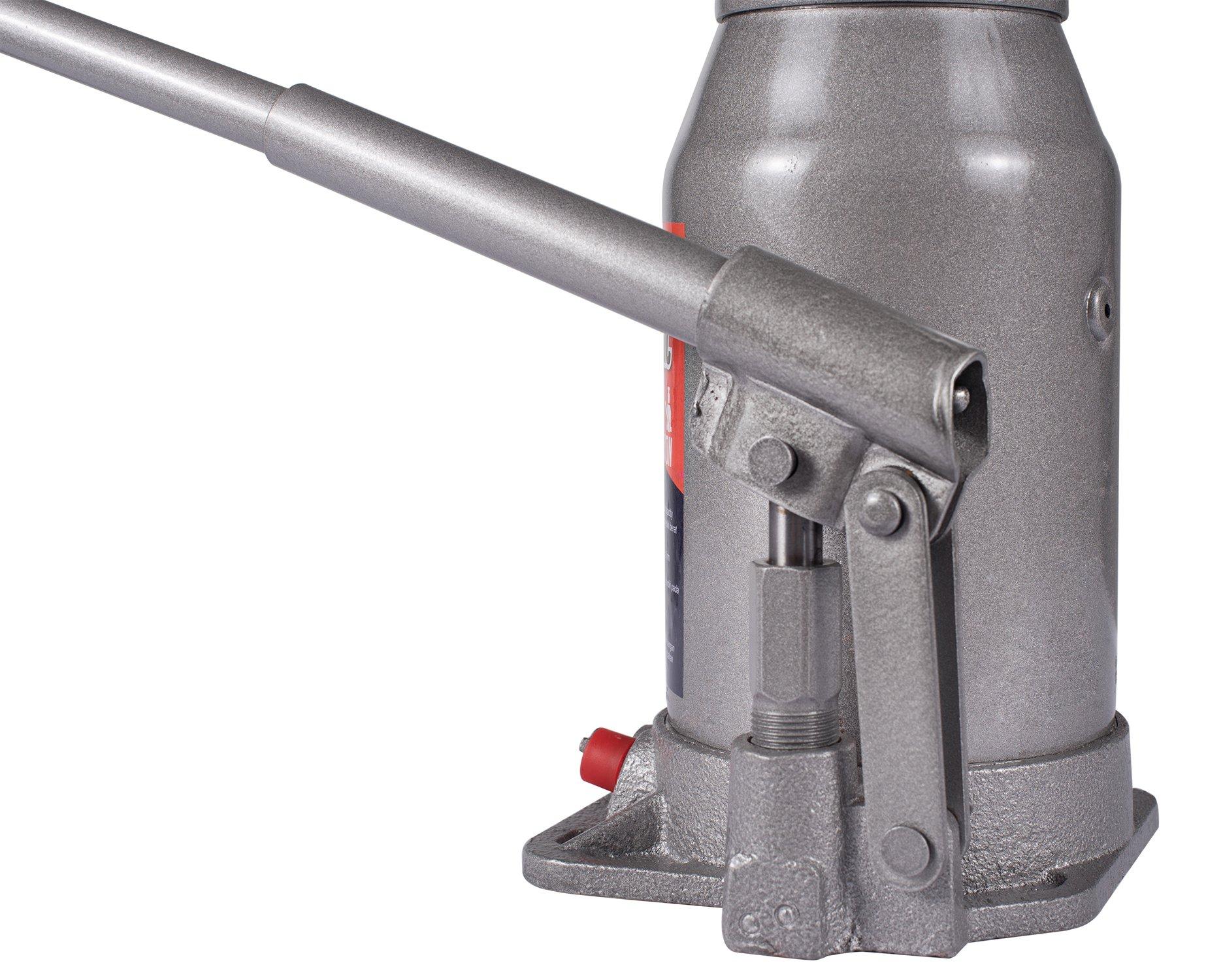 BAISHITE Hydraulic Bottle Jack 20 Ton Capacity Grey by BAISHITE (Image #7)