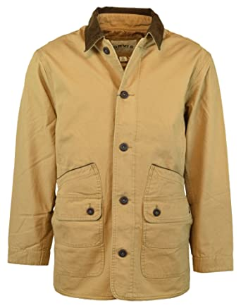 Orvis Men S Corduroy Collar Cotton Barn Jacket At Amazon Men S