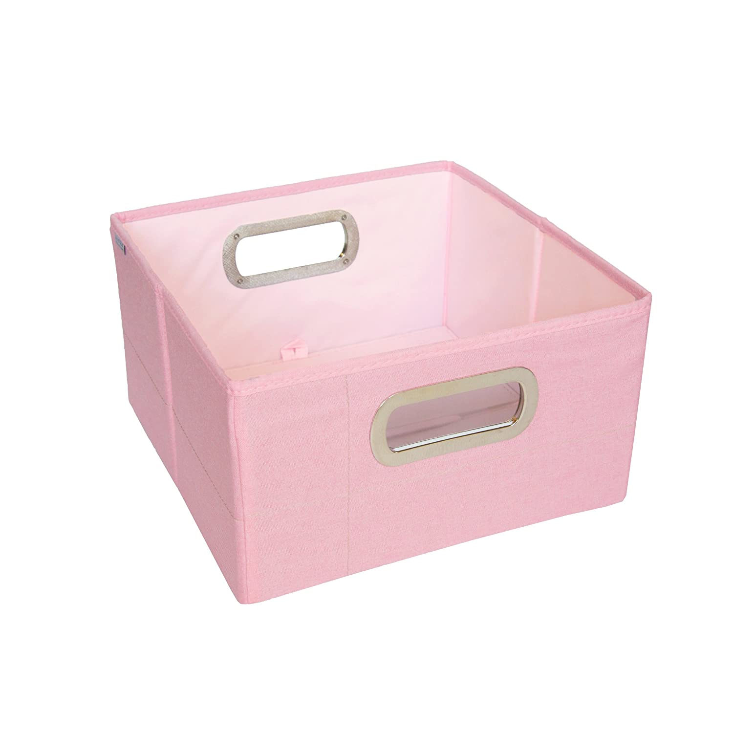 JJ Cole Heather Storage Box, Pink, 6.5-Inch JDSPH
