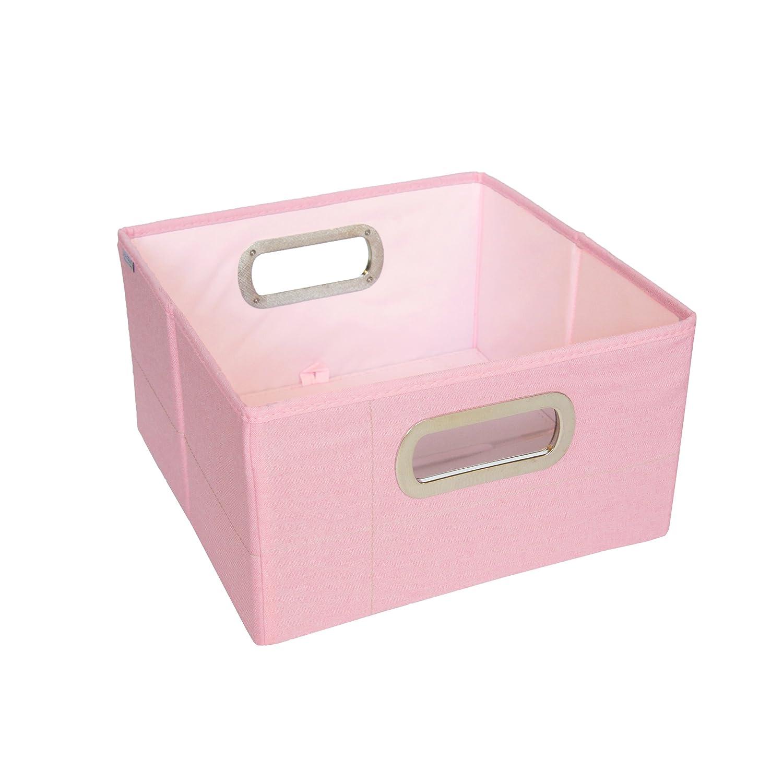 JJ Cole Heather Storage Box, Pink, 6.5-Inch JDSPH