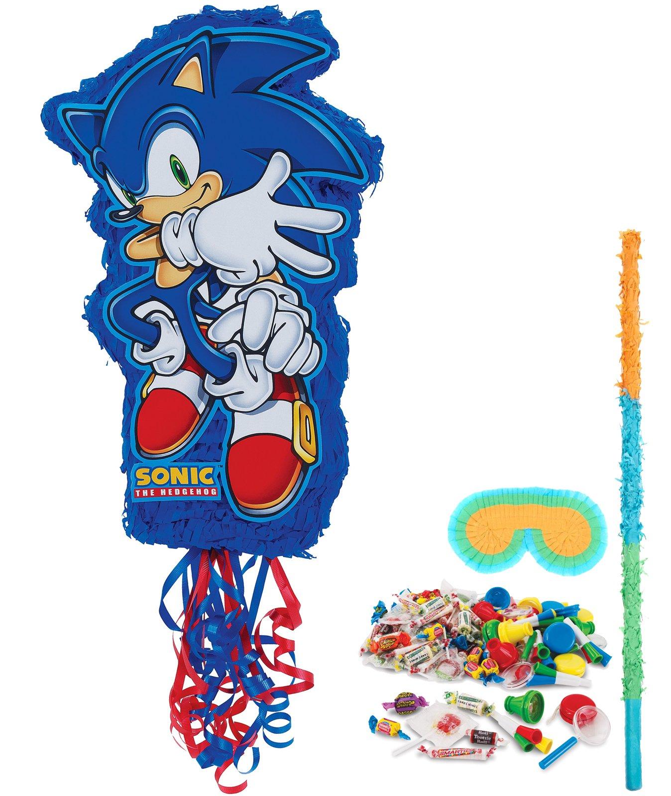 BirthdayExpress Sonic the Hedgehog Party Supplies - Pinata Kit