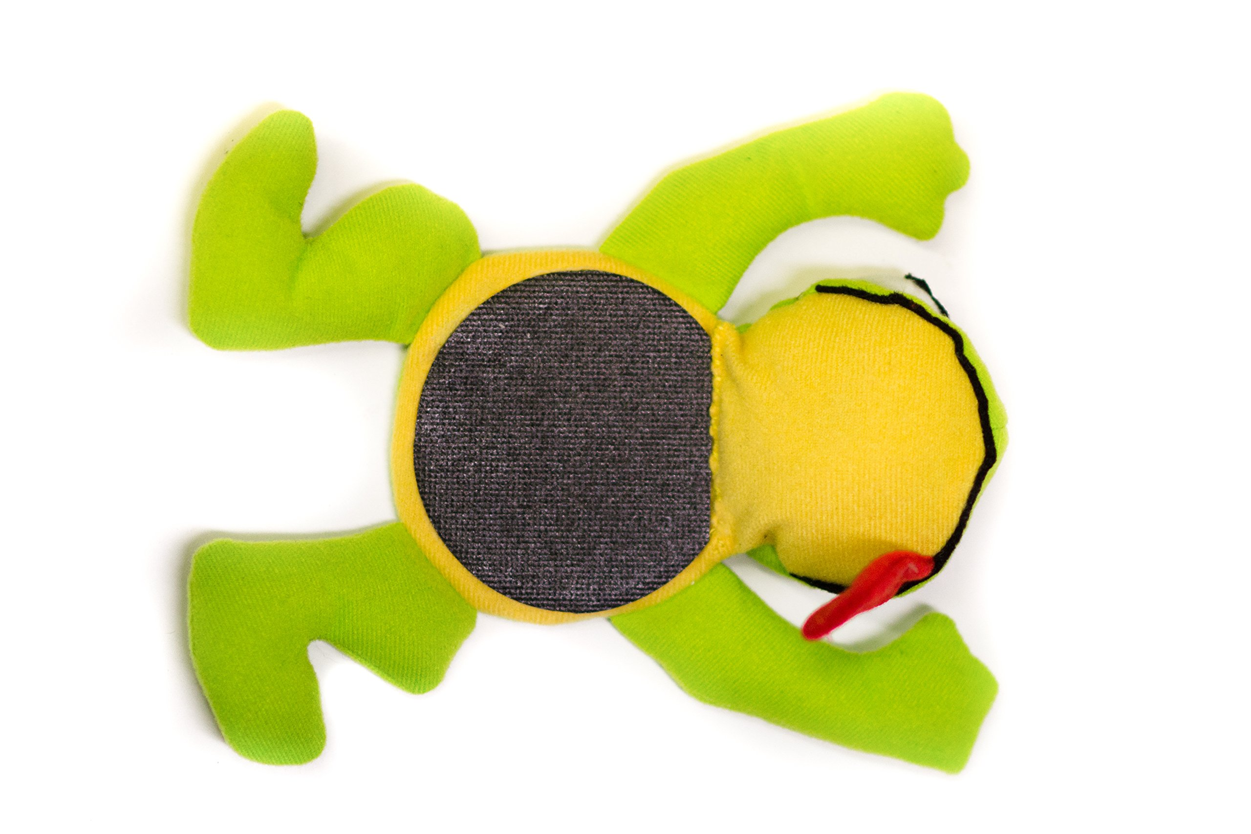Critter Coasters Motorcycle Kickstand Pad - Mr. Frog - Fits Any Motorcycle. Made in USA. Most Unique Kickstand Plate Puck Coaster Side Stand. by Critter Coasters (Image #5)