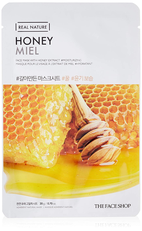 THE FACE SHOP Real Nature Mask Sheet Honey