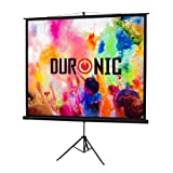 "Duronic TPS60 /43 Brilliant Matt White 60"" Portable Tripod Projector Screen For 