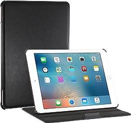 """StilGut UltraSlim, Housse V2 avec Fonction Support pour iPad Pro 9.7""""(2016), en Noir"""