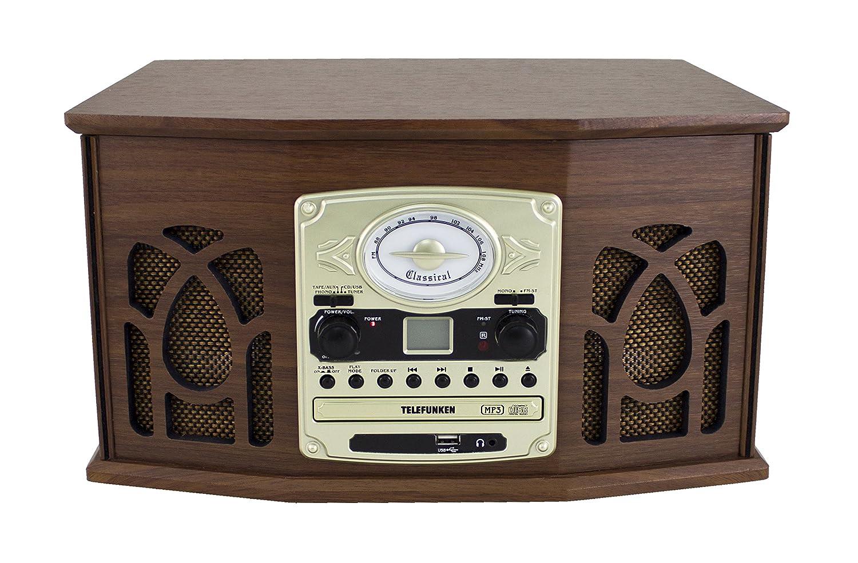 Telefunken TCD200M - Equipo de música con Tocadiscos (Radio ...